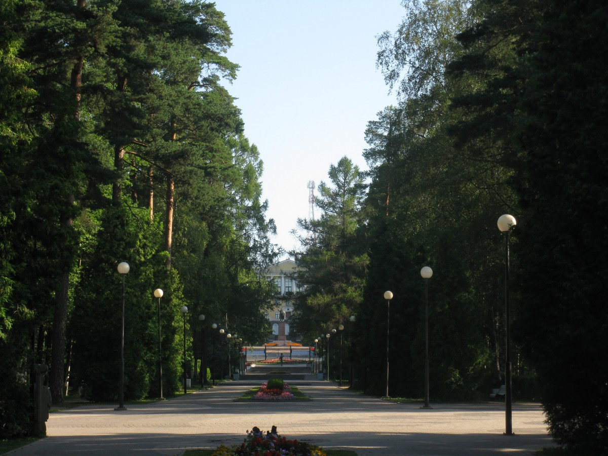 Zelenogorsk recreation park